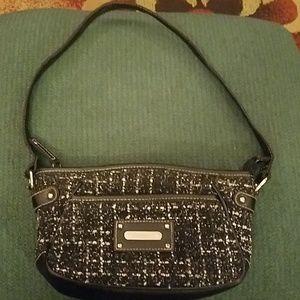 Rosetti brand black & white purse, CUTE..